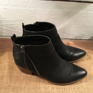 Sam Edelman circus black booties size 6.5